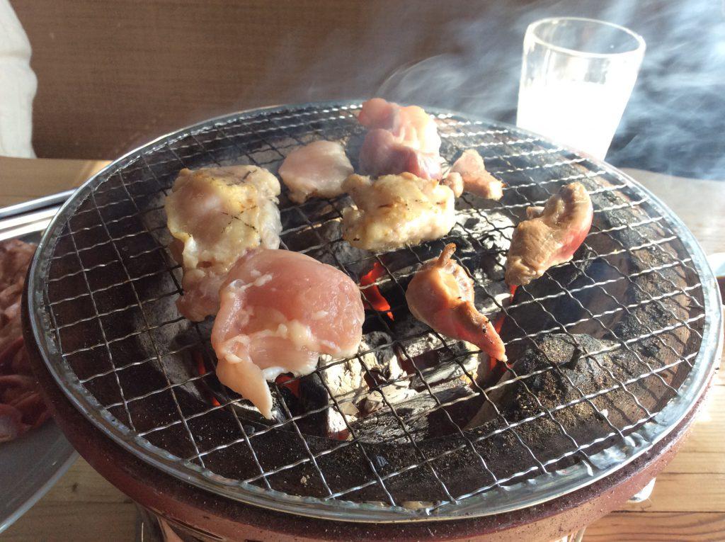 炭仙人 地鶏