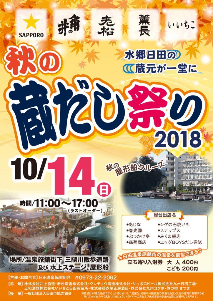 秋の蔵出し祭り2018